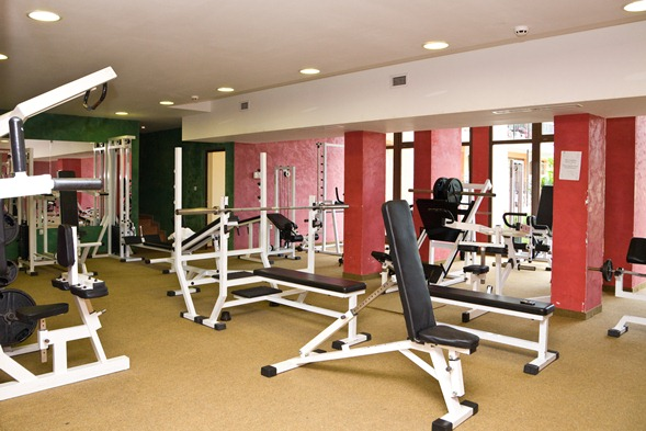 Hrizantema Hotel - Sala fitness
