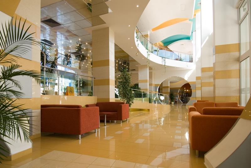 Trakia Plaza Hotel- Receptie