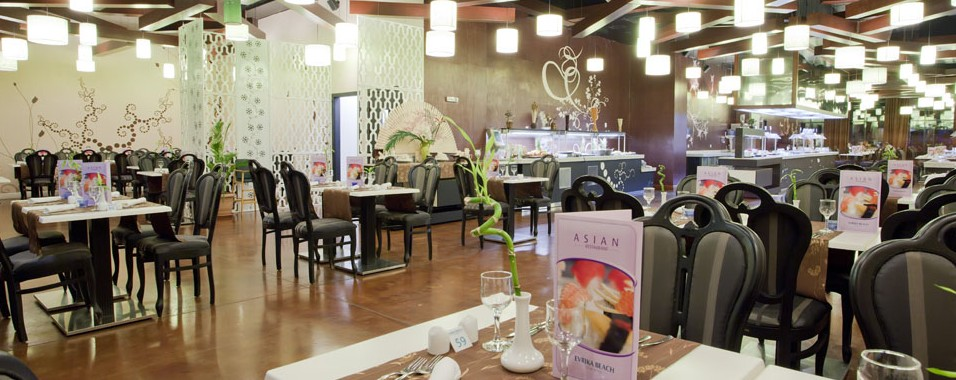 Evrika Club Hotel - Restaurant Asiatic