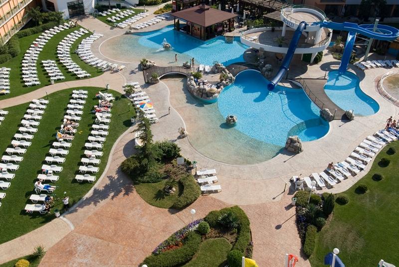 Trakia Plaza Hotel- Piscina