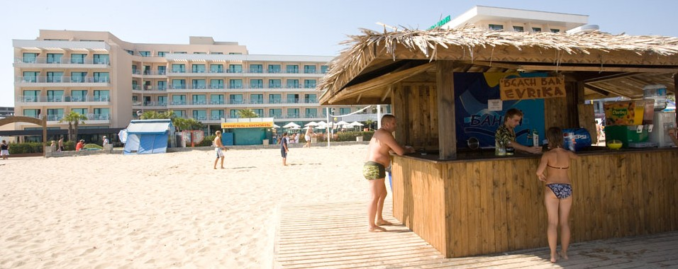 Evrika Club Hotel-Beach Bar