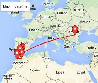 Circuit Spania - Maroc