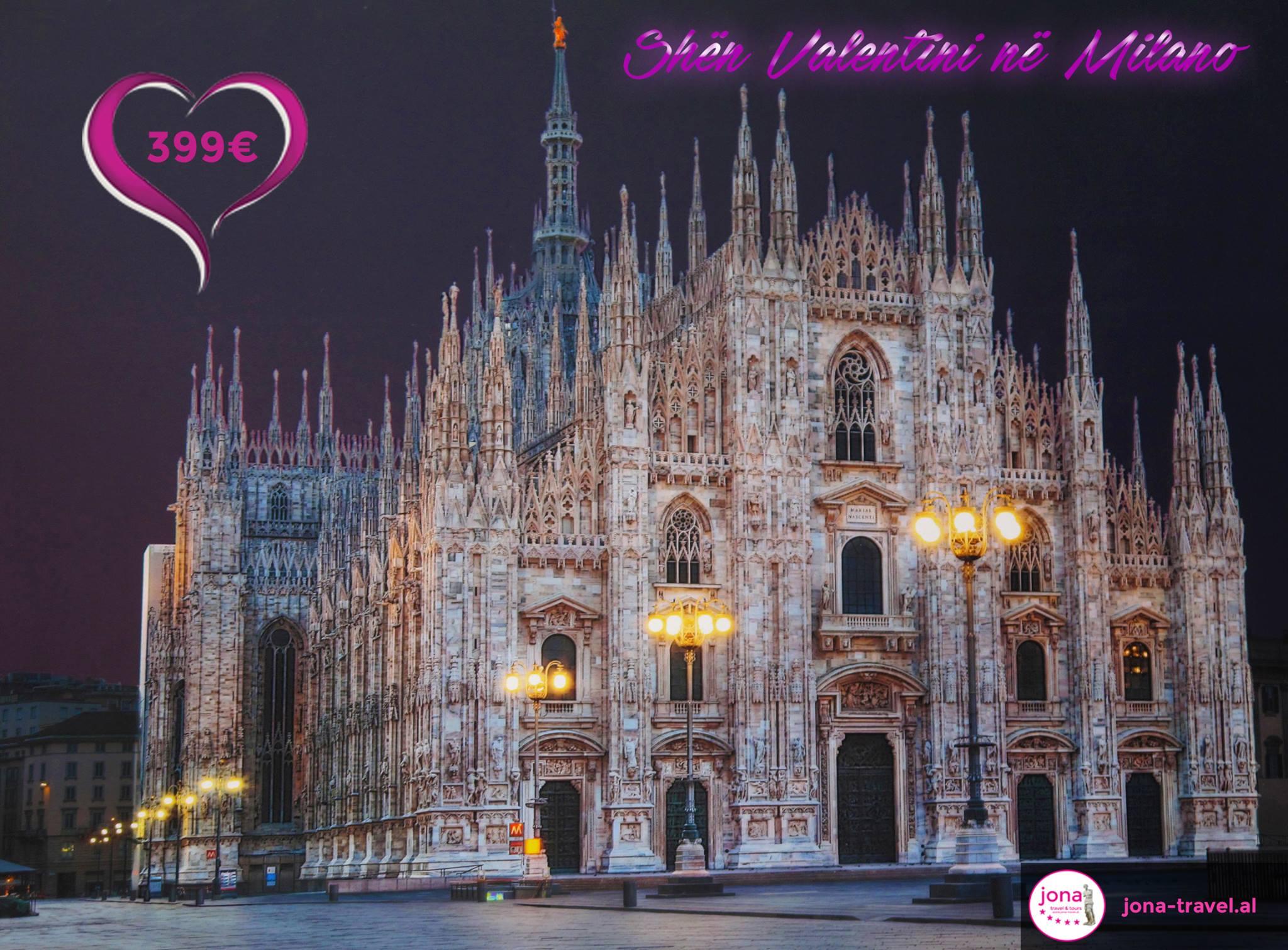 SHËN VALENTINI NË MILANO