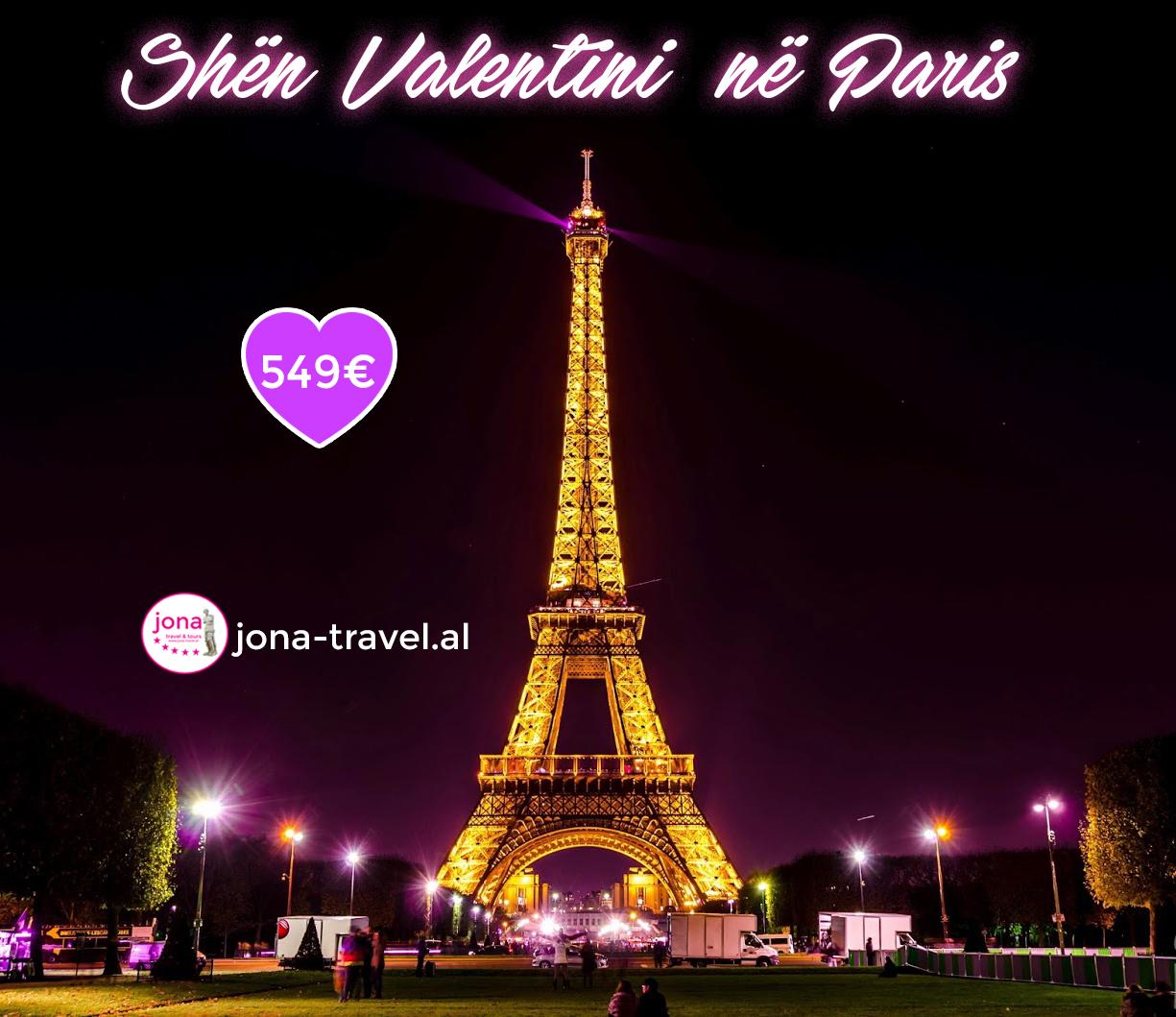 SHËN VALENTINI NË PARIS