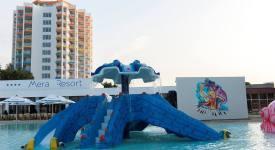 piscina principala cu sectiune pentru copii